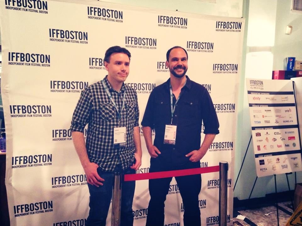 Cinematographer Adam Van Voorhis and Director Jeff Stern at IFFB