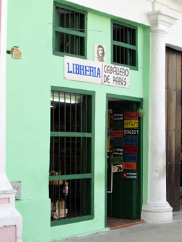 A store front in Old Havana