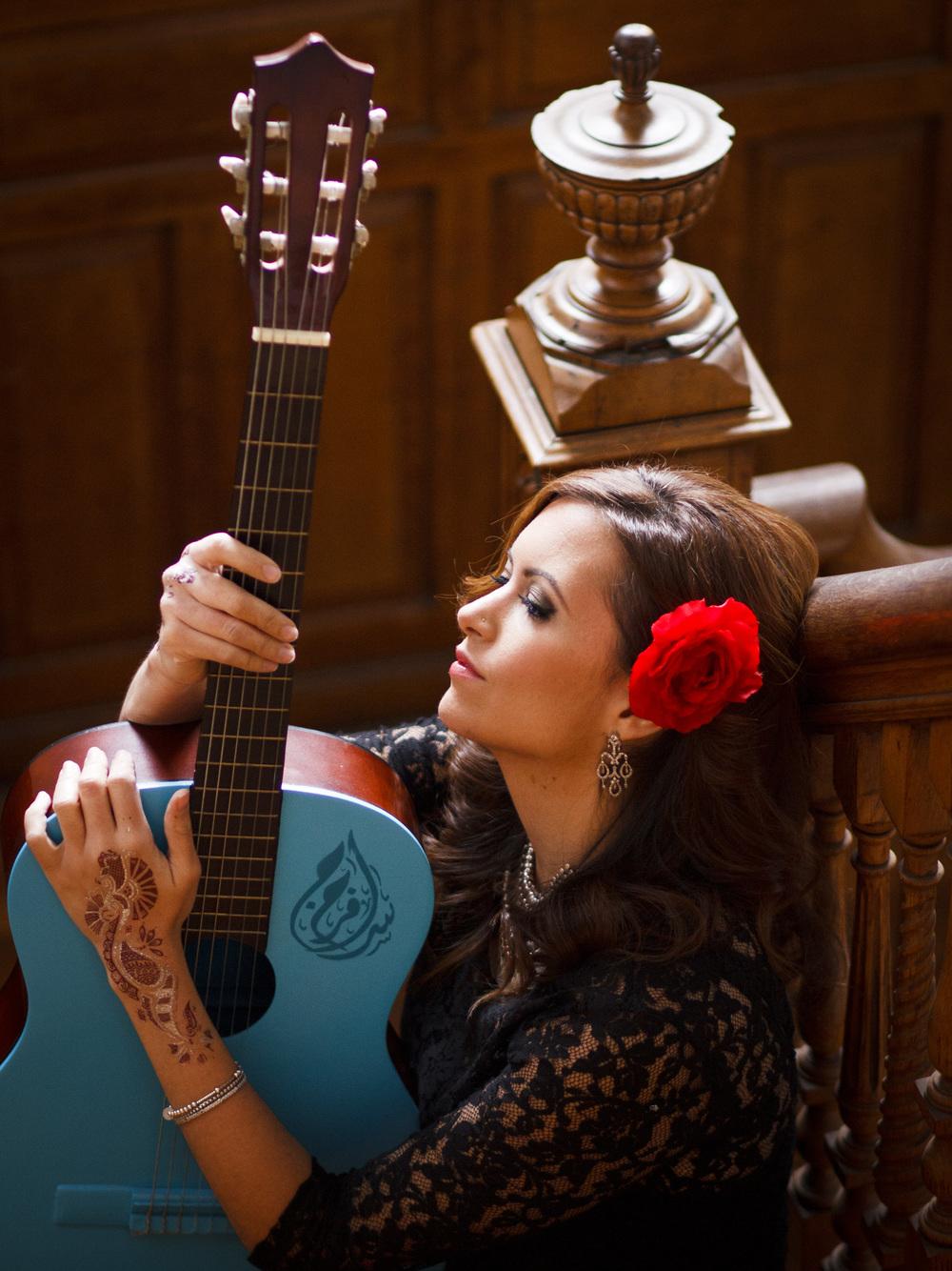 Photo of Farah Siraj by Ann Blake.