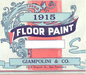 Giampolini Paint Label