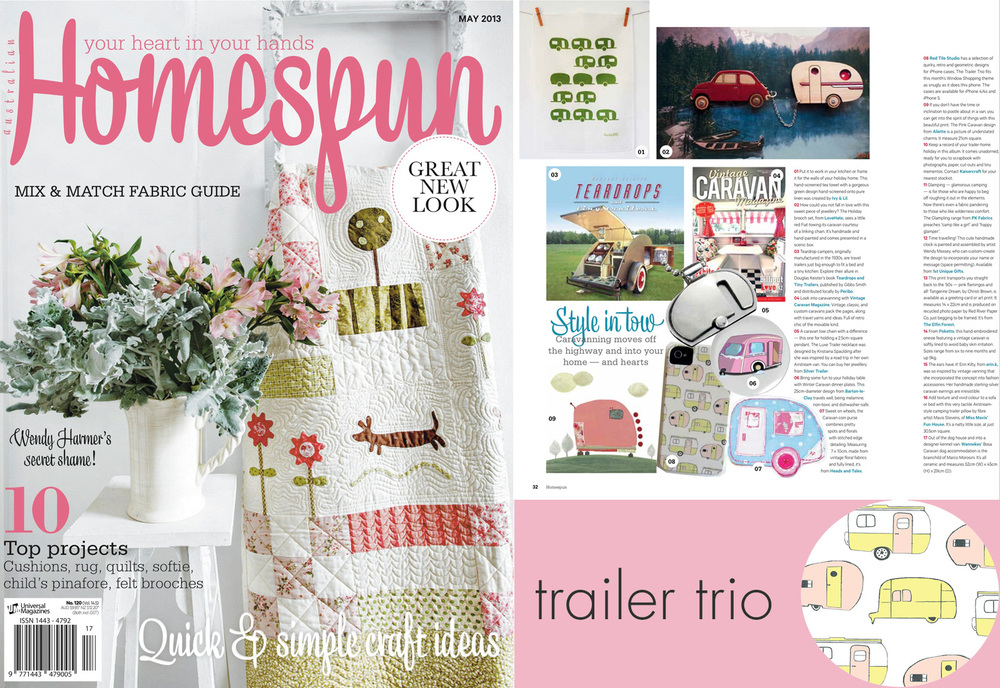 Homespun Magazine-May 2013
