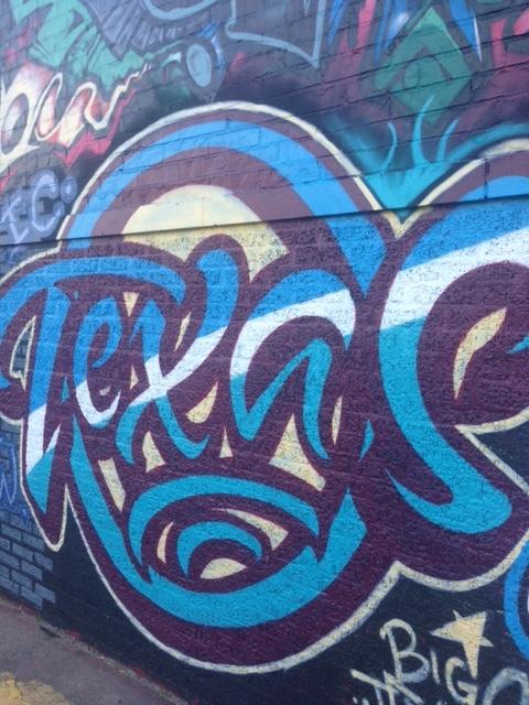 Graffiti in Deep Ellum