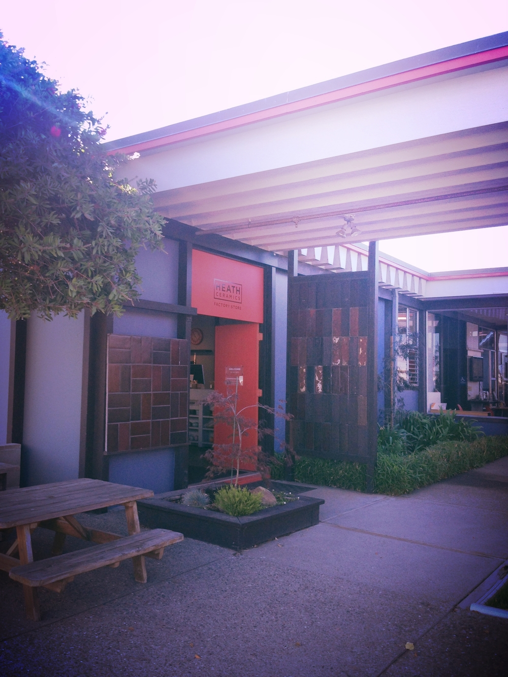 Heath Ceramics factory and store in Sausalito