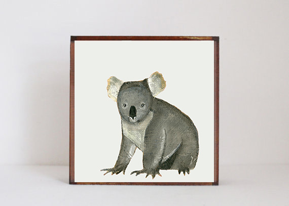 Koala Side View