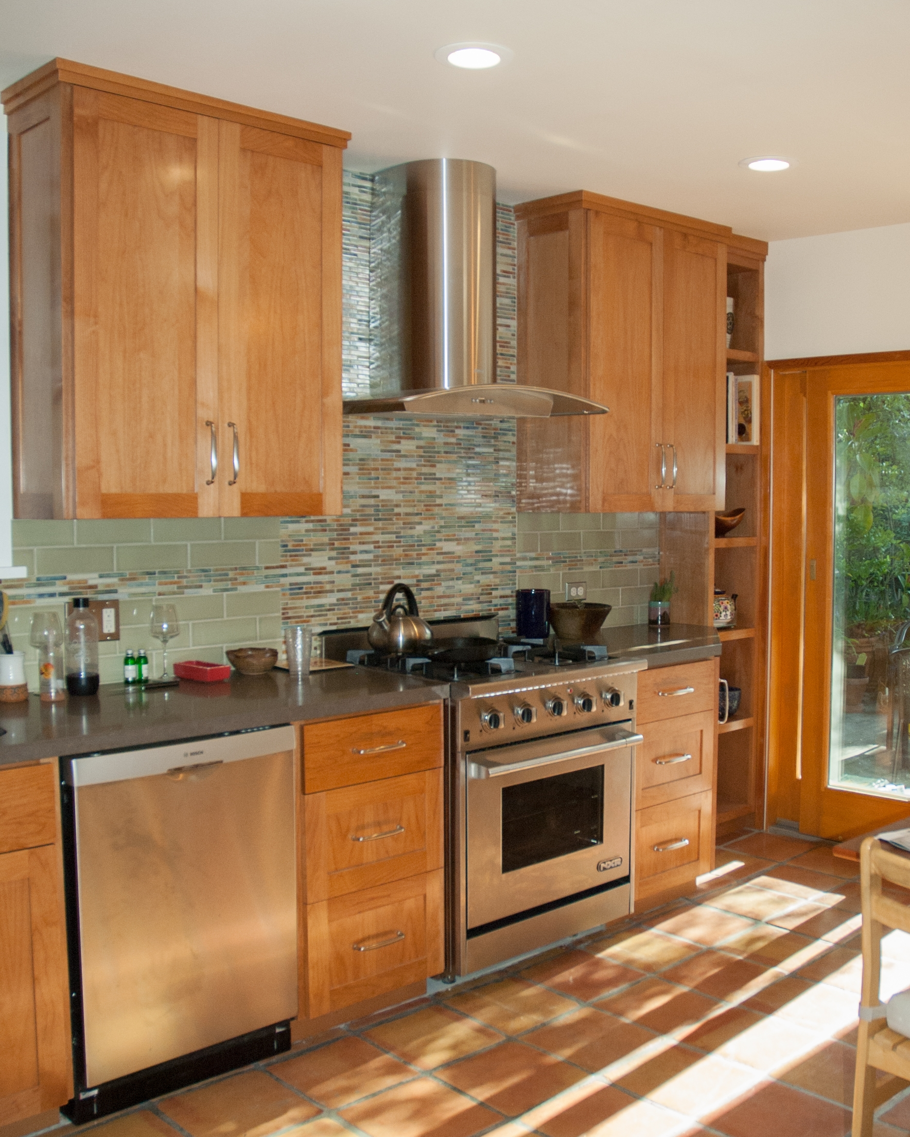 contemporary shaker kitchen - Kitchen Cabinets Oakland Ca
