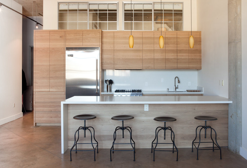 Oakland Loft Kitchen