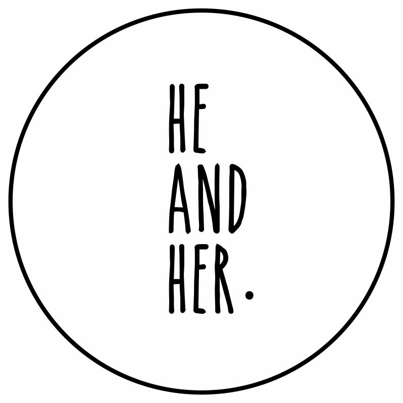 HE AND HER.