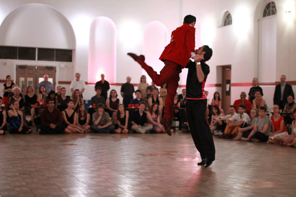Martin Maldonado & Maurizio Ghella, Oct. 2013. (Photo: Christian Amonson / Arts Laureate)