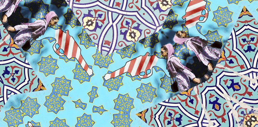 Sanaz Mazinani, Embassies (detail), 2014