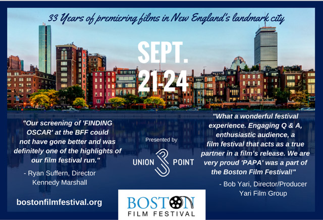Swing by the AMC Lowes Boston Common and the Calderwood Pavilion at the BCA to check out new film premieres and exciting documentaries.