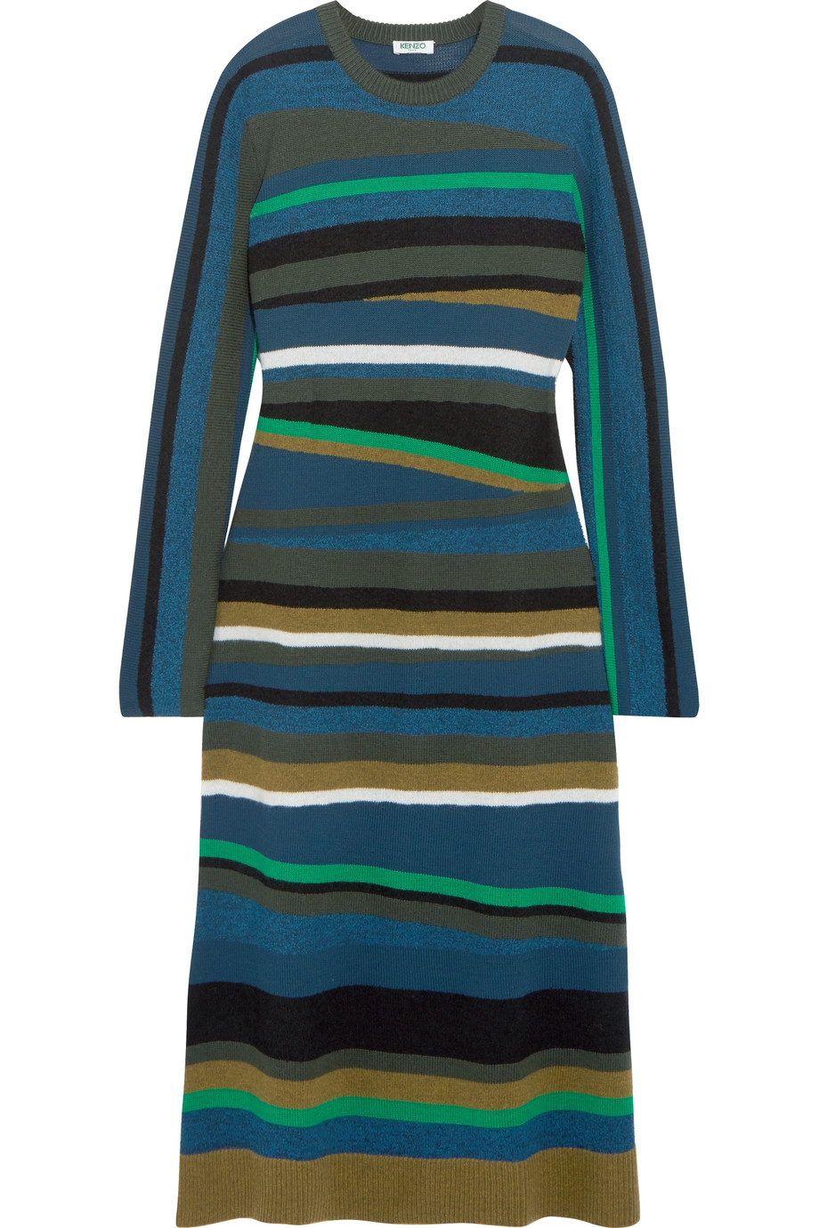 Striped knitted dress.jpg