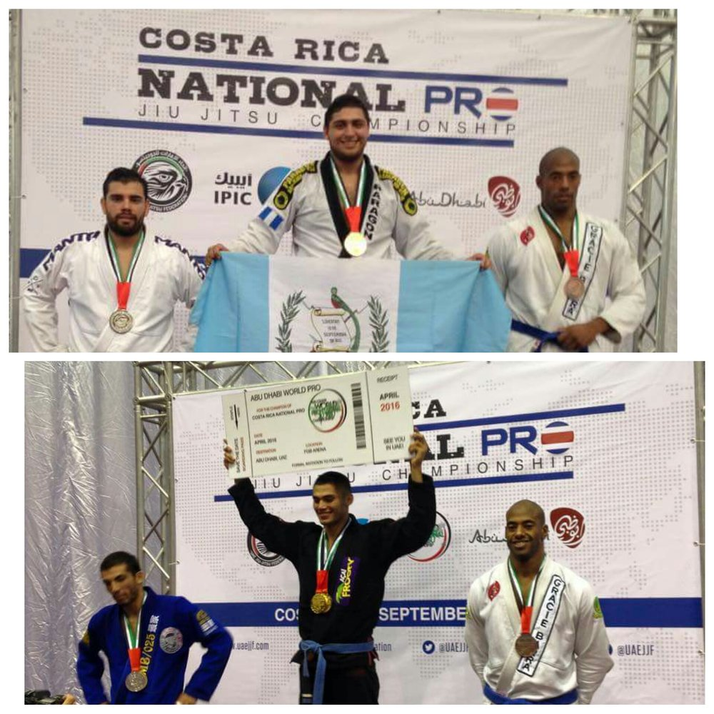 Costa Rica National Pro 9/2015 Bronze-Blue Belt Super Heavy Bronze-Blue Belt Open Weight Class