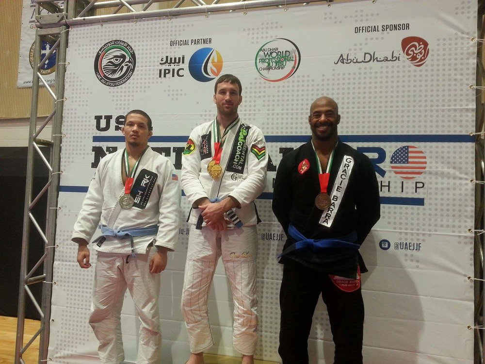 US National Pro 2/2016 Bronze-Blue Belt Super Heavy