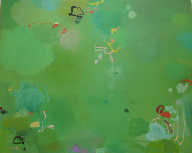 """AT THE FOOT OF NORTH MEADOW"" 2008 