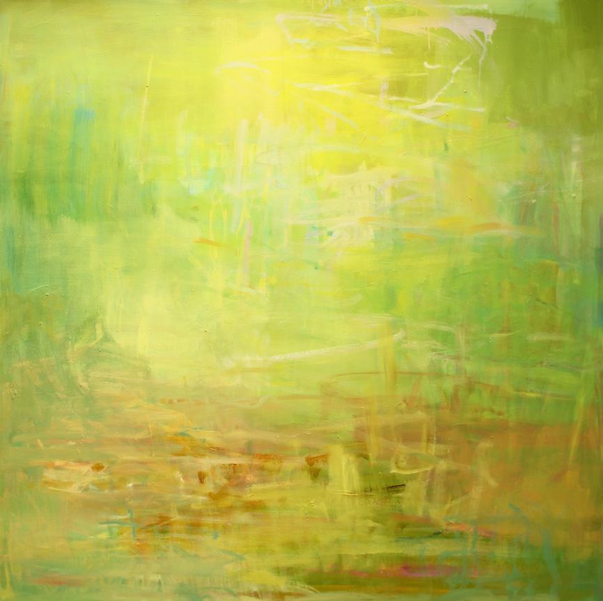 """Summer haze"" 2014 | oil on canvas | 60x48"" | SFMOMA Artists Gallery"