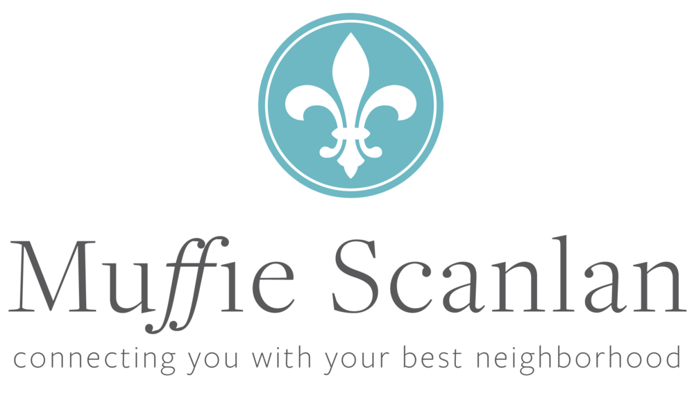 Muffie Scanlan Main Logo Design created by Brightly and Co.