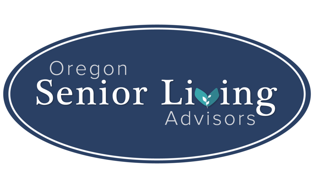 Oregon Senior Living Advisors, Main Logo Design by Brightly and Co