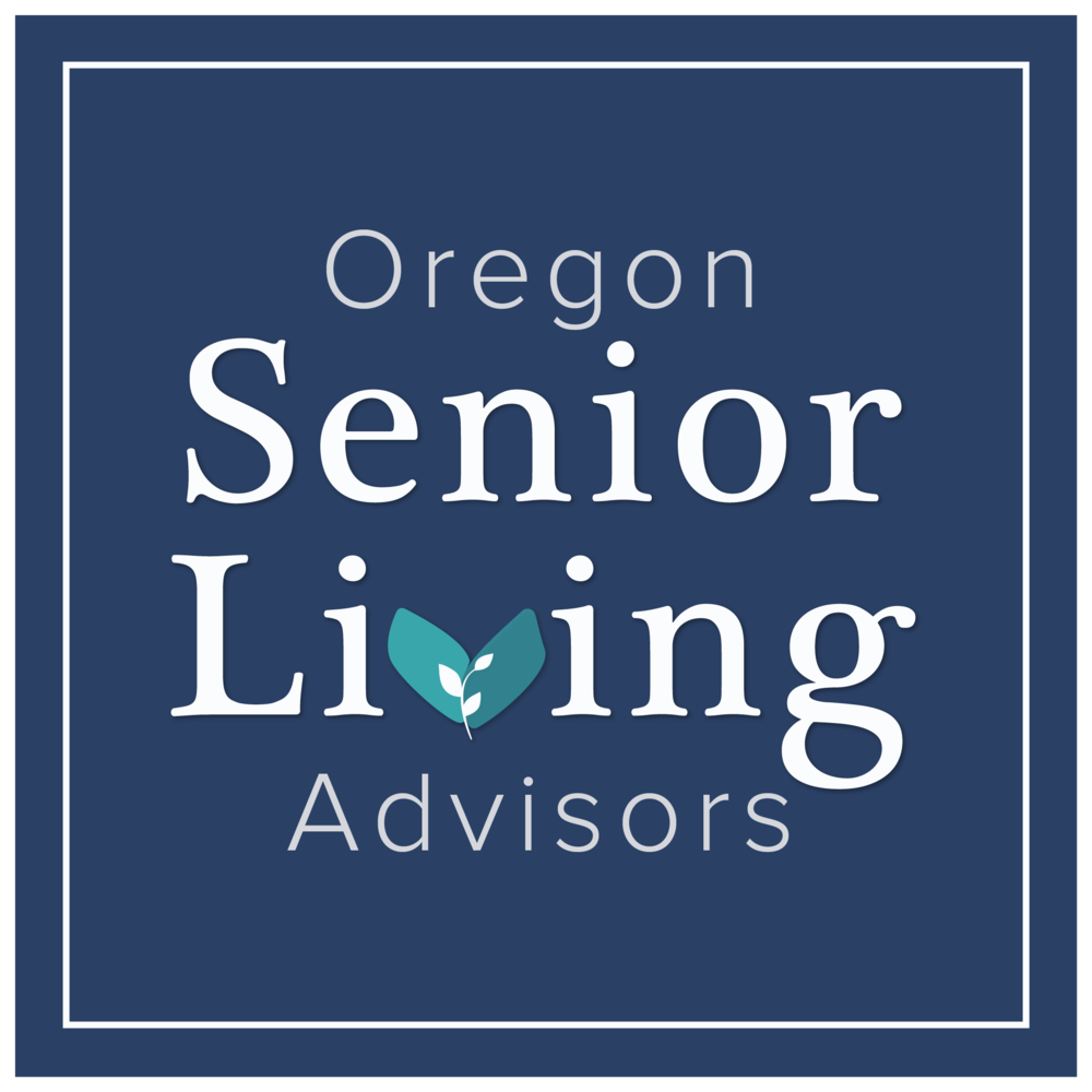 Oregon Senior Living Advisors, Main Logo Design by Brightly & Co.