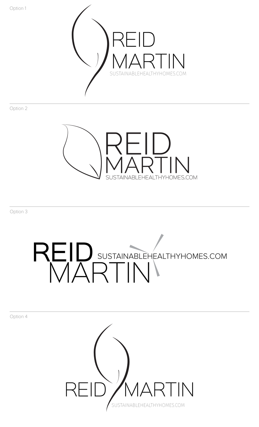 Logo Concepts for Sustainable Healthy Homes, created by: Brightly & Co.