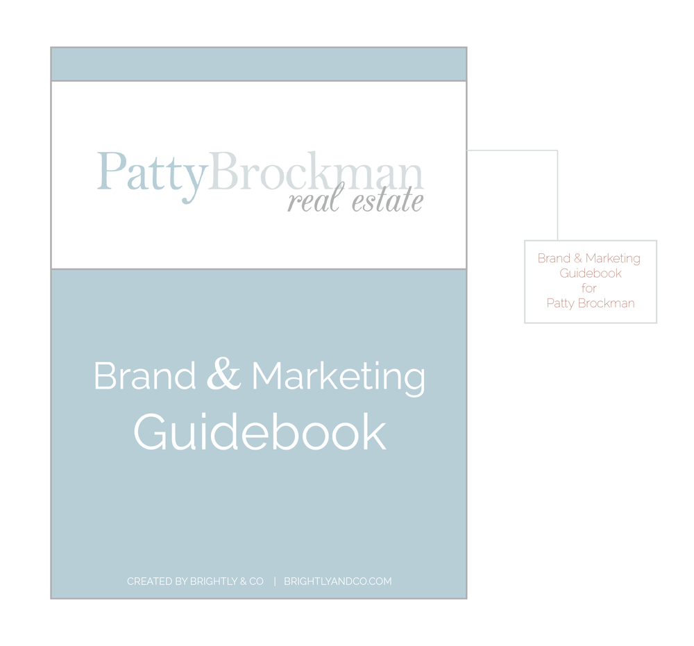 Patty Brockman Real Estate Brand Design by Brightly & Co. | www.BrightlyandCo.com