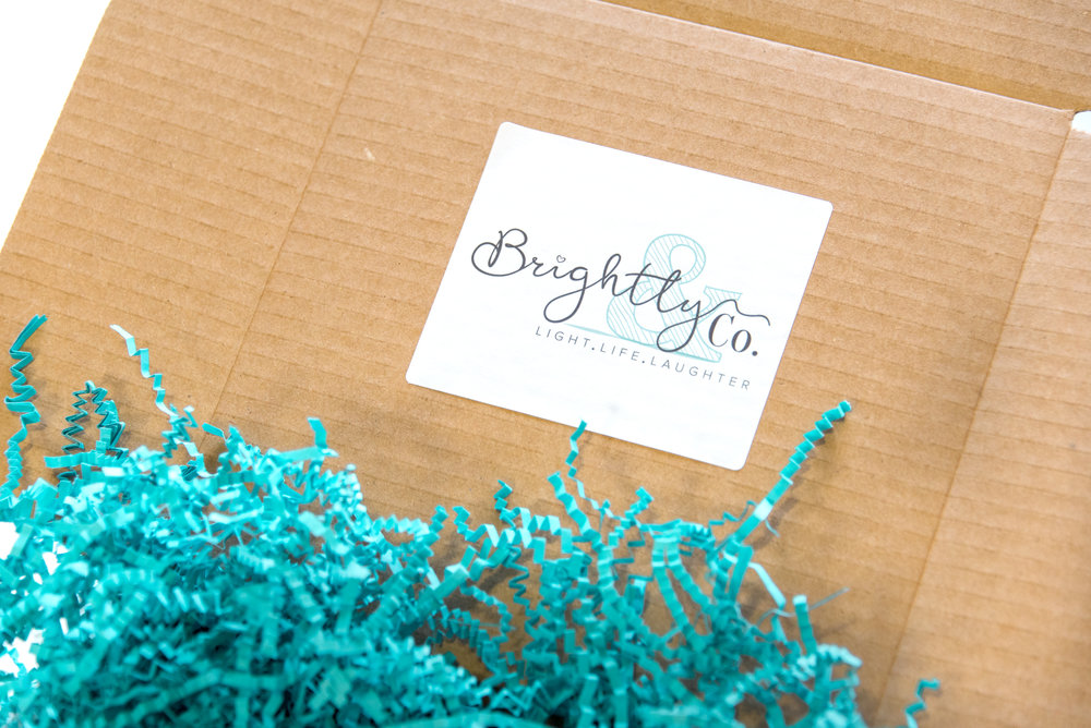 Brightly & Co. - How I create my client gifts