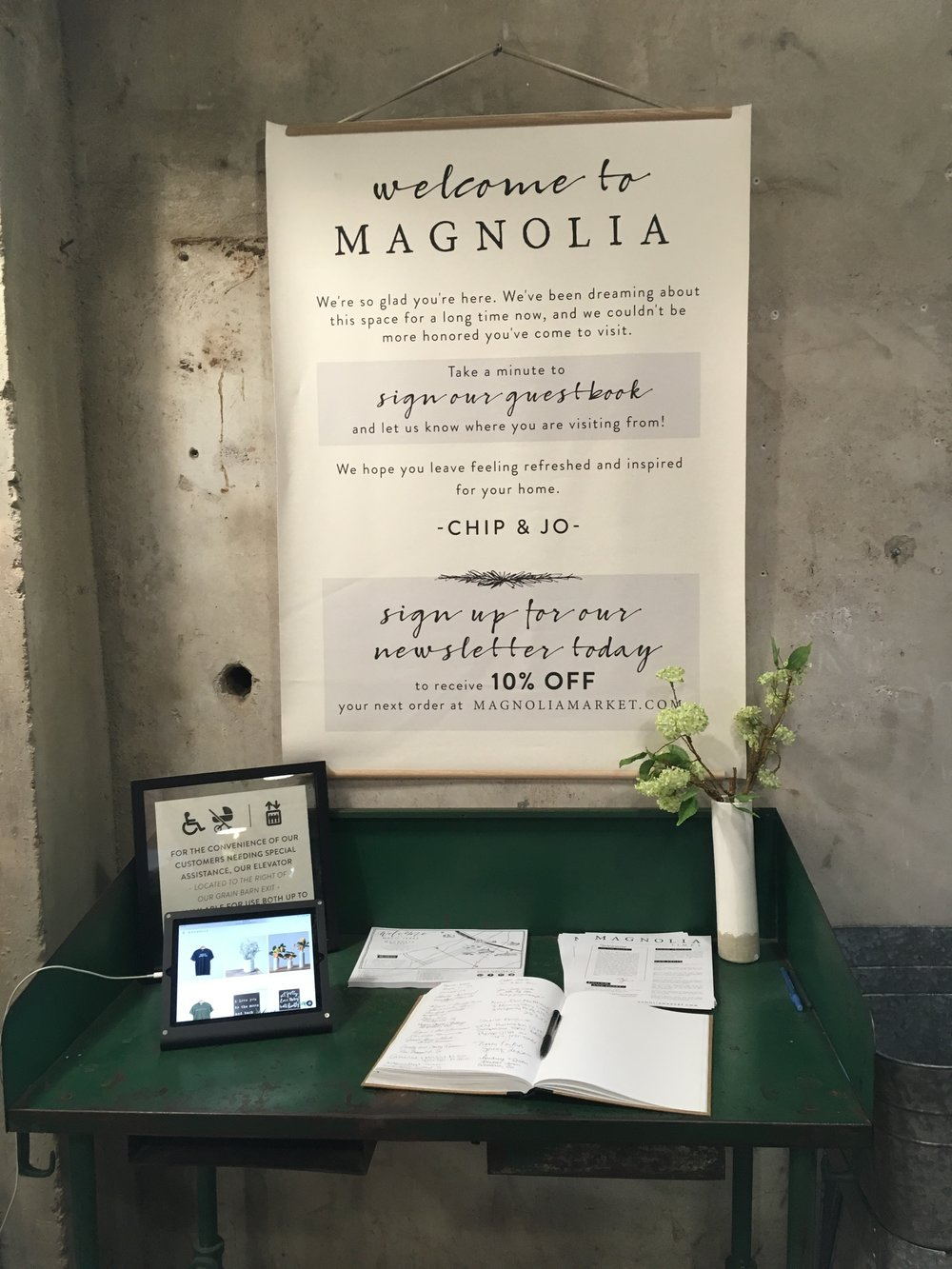 Brightly Co An Amazing Brand Experience With Magnolia I E Joanna