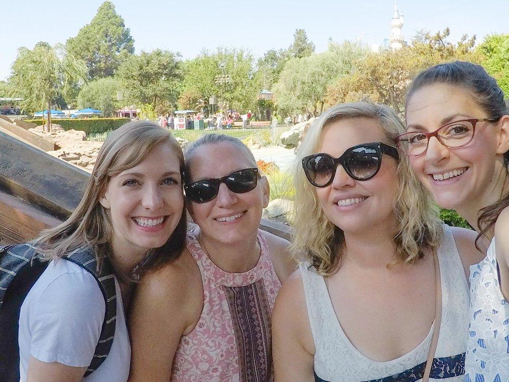 Sara, Stacy, Kristy, Me