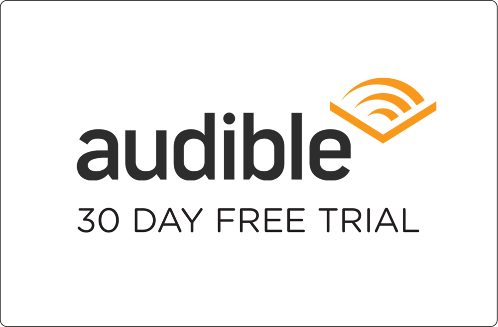 Audible has the widest selection of audiobooks available. Use the free trial to download one free book and listen in before you decide if you'd like to pay for the membership or not.