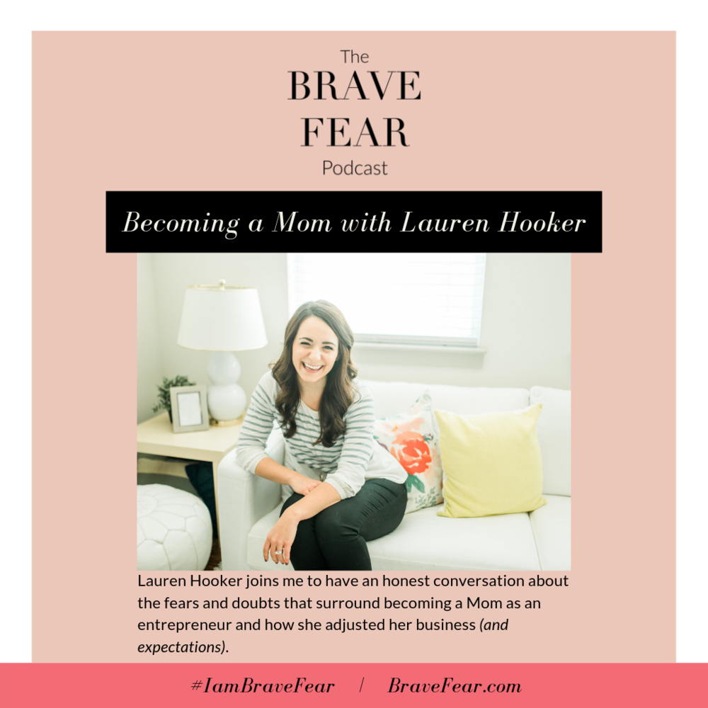 Lauren Hooker of Elle & Co - Brave Fear Podcast Episode with Brianne Wik
