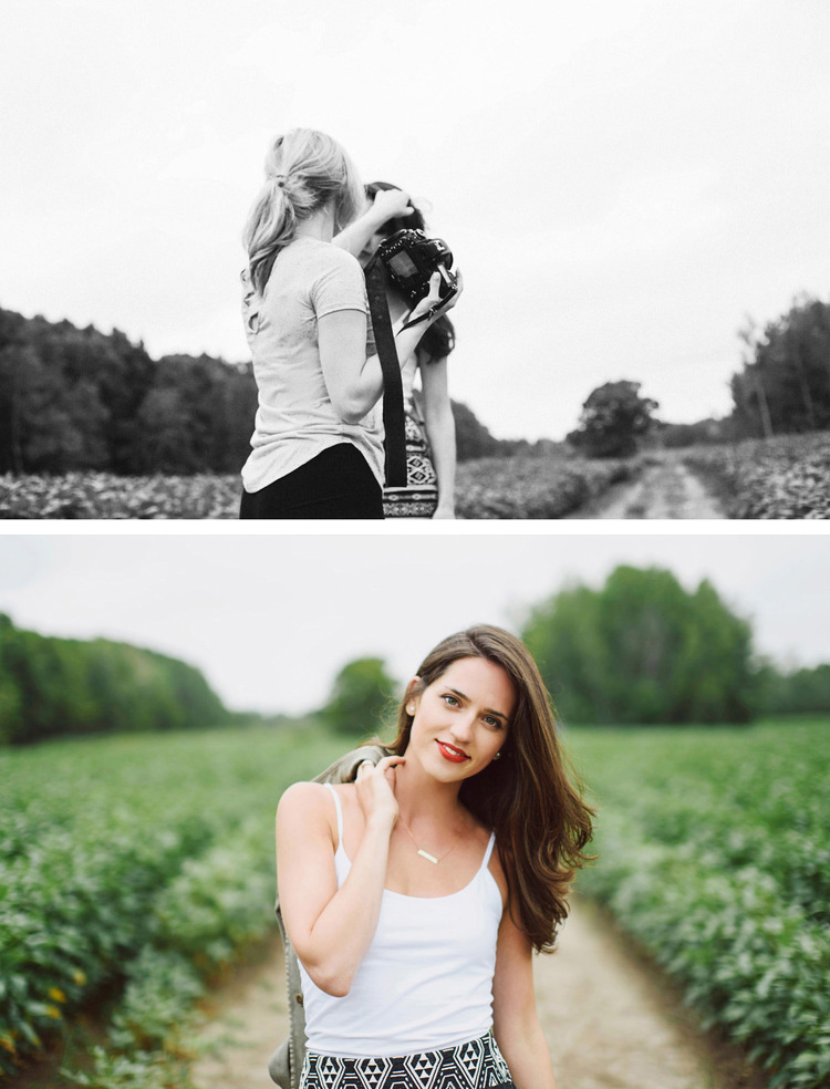 top   Emilie Olson   by    Tania Stratti, bottom    Christie Hebert   by   Emilie Olson