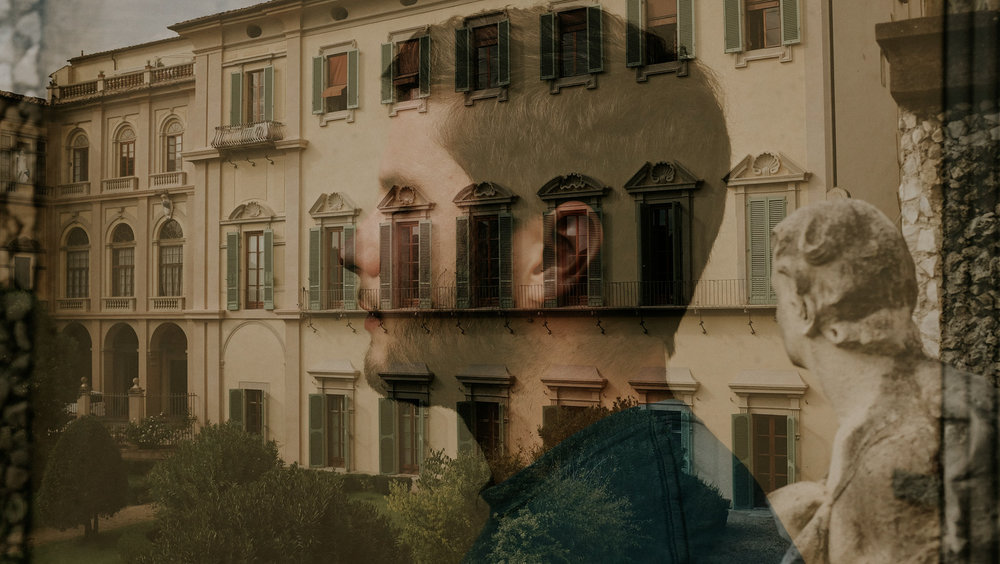 Double exposure , Limonaia, Florence