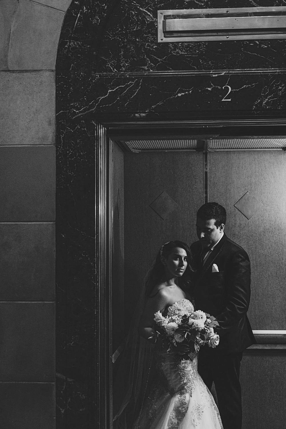 Stefanie & Damian - A decadently modern Montreal weddingSeptember 2018