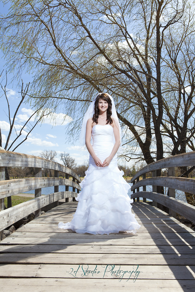 Lethbridge Bridal Portrait