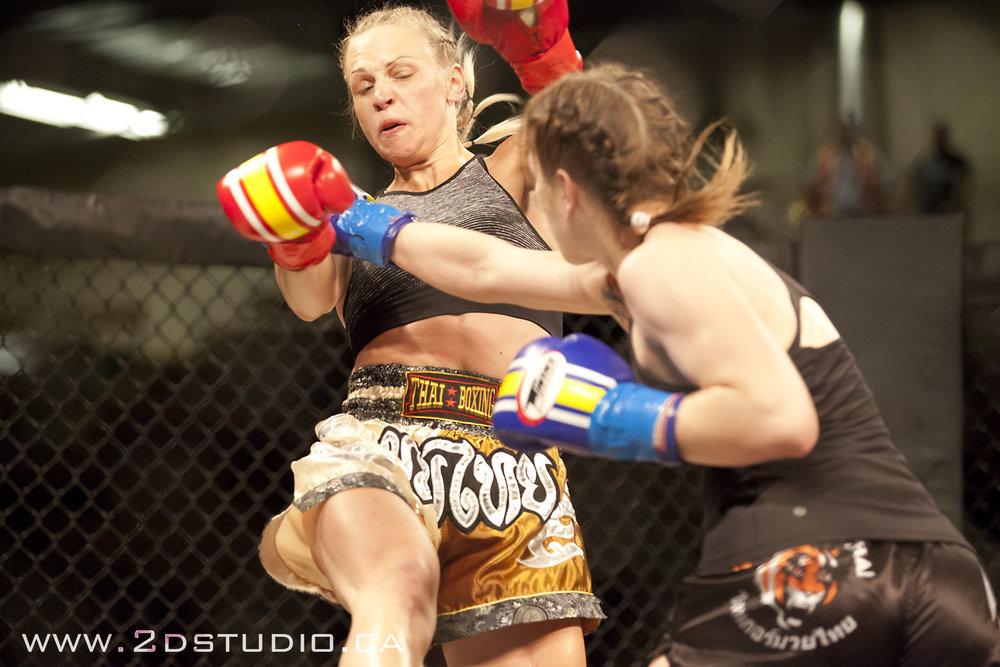 Lethbridge Kickboxing Bout