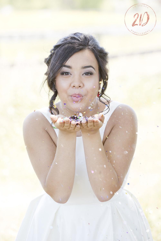 Glitter Grad Photo