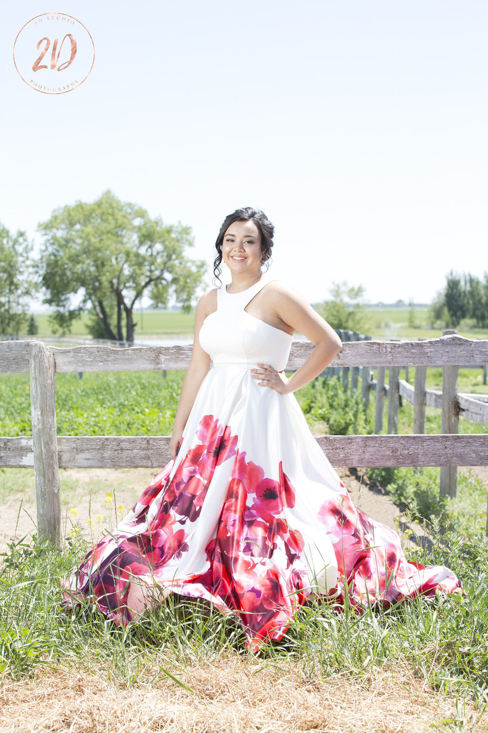 Country Style Grad Session