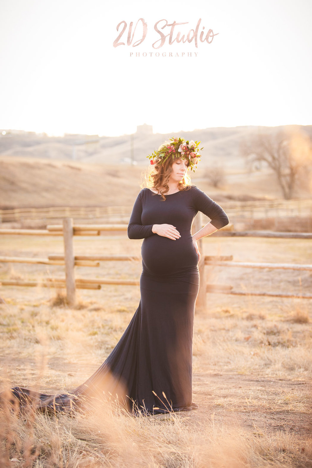 Outdoor Maternity Fall