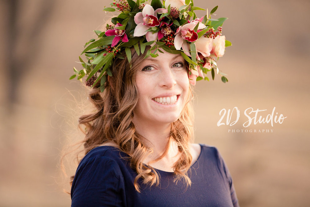 Floral Crown Maternity Funky Petals Lethbridge