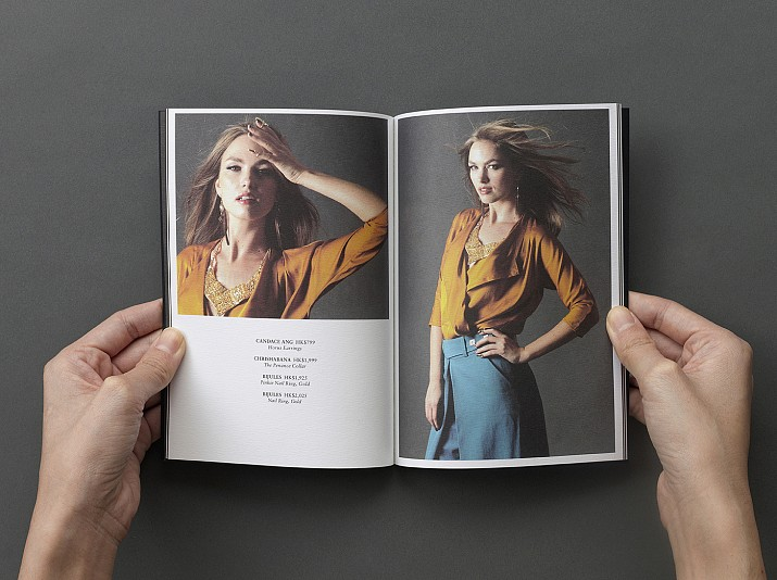 The 9th Muse Brandbook Layout