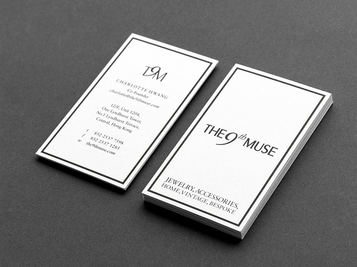 The 9th Muse Business Cards