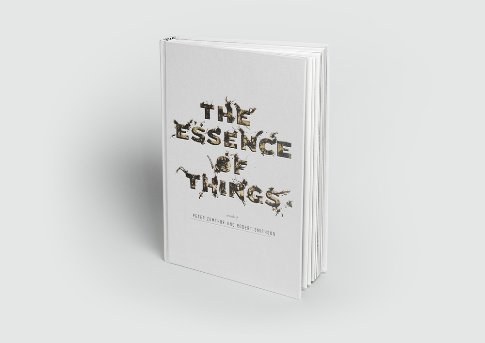 The Essence of Things Book Cover