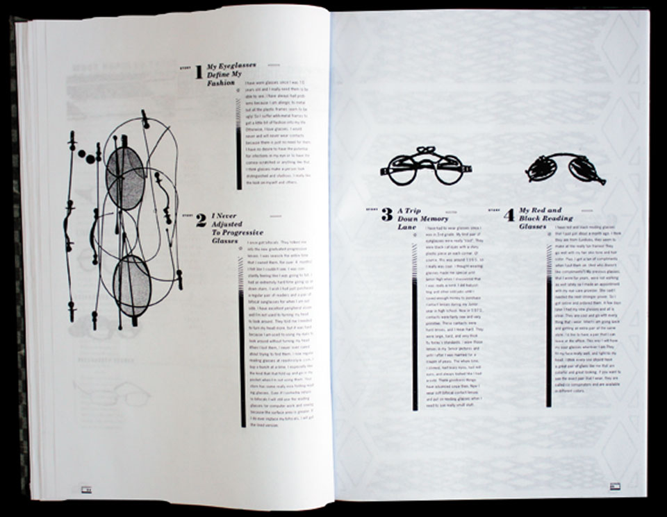 Eyeglasses Encyclopedia Layout