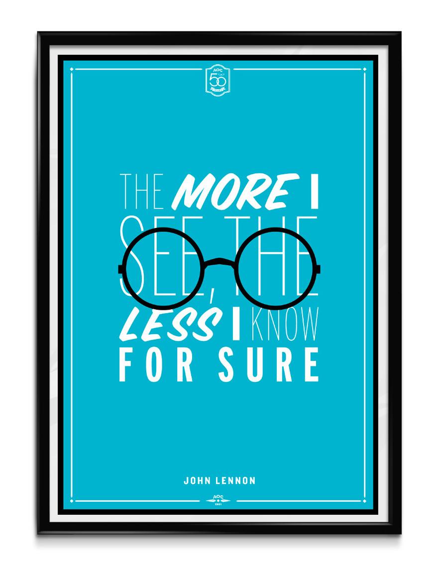 AOC Poster Lennon