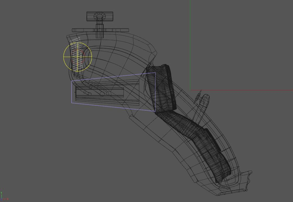 Side View Wireframe