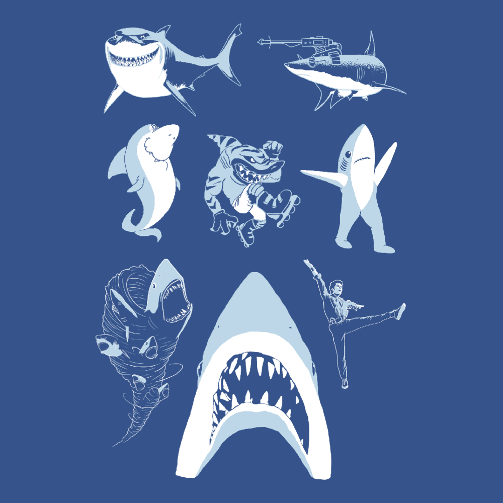 Famous Sharks (CLICK TO SHOP!)