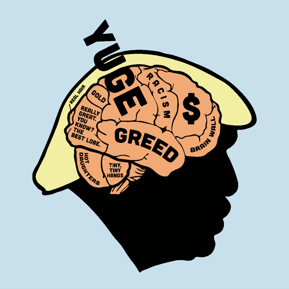 Trump's Brain (CLICK TO SHOP!)