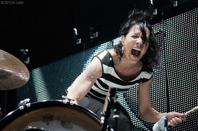 Kim Schifino | Matt & Kim (March 2013)