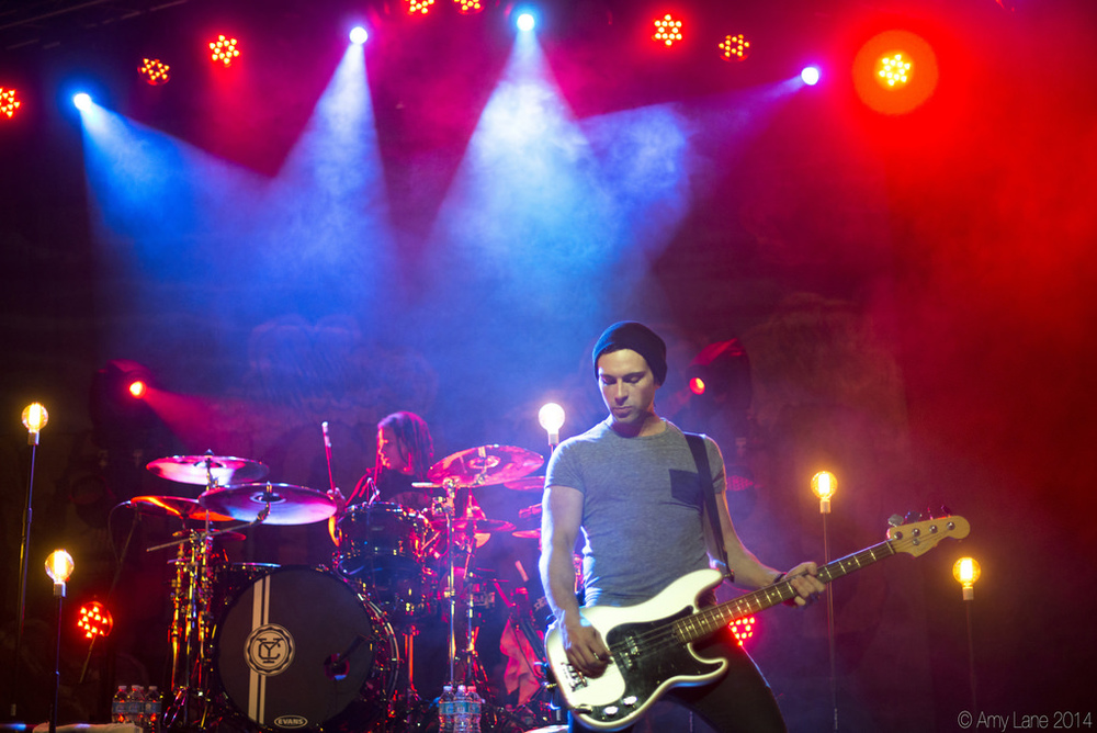 Josh Portman of Yellowcard | 01.17.14