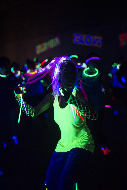 Zumba Glow | Sac State — Amy Lane Photo