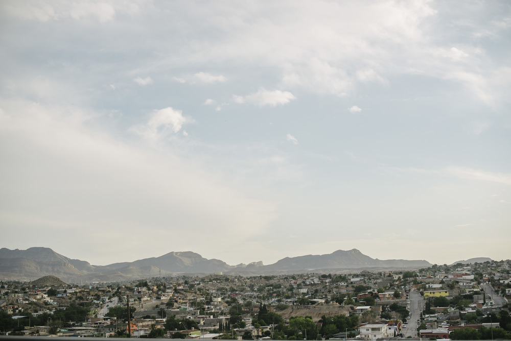 This is Juarez, Mexico, as seen from El Paso, Texas.